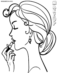 Small Picture makeup coloring pages 28 images free coloring pages of make up