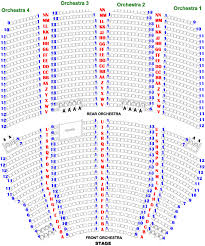 Civic Theater Seating Chart Akron Civic Theater Seating Chart Elcho Table
