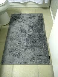 light gray bath rug set