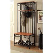 hall entry furniture. boltzero black hall tree entry furniture h