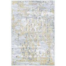 calinda samovar gold silver ivory 9 ft x 12 ft area rug