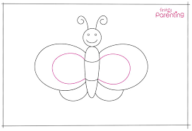Draw a circle around the dots to finish the eyes. How To Draw A Butterfly A Step By Step Guide With Pictures