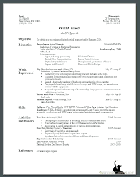 bad resume format sample bad resume simple resume format