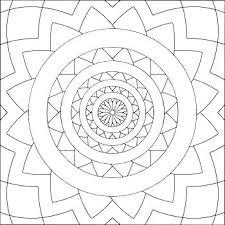 Symmetrical Coloring Pages