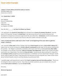 Formal Cover Letter Cover Letter Format Sample Cover Letter Header Writing A Resume