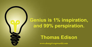 on inspiration perspiration and genius by thomas edison   on inspiration prespiration and genius by thomas alva edison
