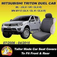 car seat covers mitsubishi triton