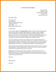 Cover Letter Sample For Fresh Graduate Student Cover Letter