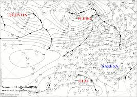 Significant Weather Charts Explained Meteorological Charts Analysis Forecast North Atlantic Europe
