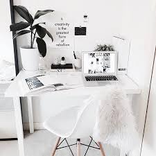 desk inspiration. Unique Inspiration All White Workspace With A Perfect Minimalist Deskso Simple   Stylish Throughout Desk Inspiration C
