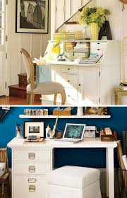 how to make office desk. Space Saving Options For Home Office :: Pottery Barn Furniture How To Make Desk O
