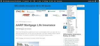 Aarp Insurance Quotes Classy Aarp Life Insurance Quotes Trevormcpherson