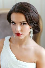 brides can totally wear red lipstick