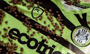 The average coffee tree produces 10 pounds of coffee cherry per year, or 2 pounds of green beans. English Team Forest Green Rovers Unveils A Shirt Made Of Coffee Waste