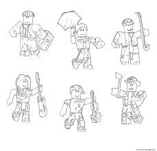 Here is roblox color codes or brickcolor codes, including color, name, and number. Roblox Characters Coloring Pages Printable