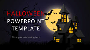Themes For Powerpoint Presentation Halloween Powerpoint Template 2018