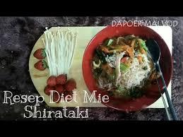 Beras shirataki harganya juga terjangkau. Resep Mie Shirataki Program Diet Panci Listrik Youtube
