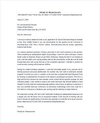 Education Cover Letter Template Teaching Cover Letter Examples For Successful Job Application