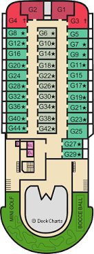 Carnival Elation Deck Plans Ship Layout Staterooms Map