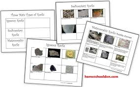 Free Rocks and Minerals Packet (25 pages) - Homeschool Den