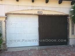 painting garage doors garages paint metal type of paint for a metal garage door how to