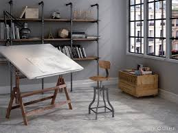 office tile flooring. View In Gallery Arabesque-tile-patchwork-office-floor-equipe-19.jpg Office Tile Flooring