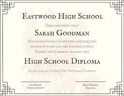 School Certificate Templates Preschool Diploma Template Gallery High