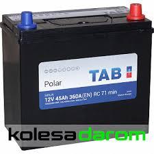 """Купить <b>аккумулятор легковой</b> """"<b>TAB</b>"""" Polar JIS 45Ач о/п 46B24LS в ..."""