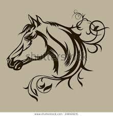 Horse Tattoo Tetování Koně