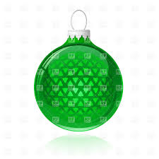 christmas tree decoration green christmas bauble vector image vector artwork of holiday frbird to zoom