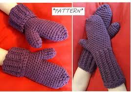 Mittens Pattern Classy PATTERN ONLY Kids Crochet Mittens Pattern Mittens Pdf File Etsy