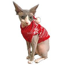 Sphynx Cat Color Chart Sphynx Cat Ugly Sweater Art Print