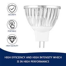 Light Bulb Beam Angle 45 Degree Beam Angle Led Bulb Mr16 Warm White Spot Light 4w 12v Spotlight T 8318820103088 Ebay
