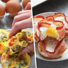 Breakfast <b>Egg Cups</b> - 4 Ways - Fit Foodie Finds