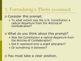 writing a historical essay the thesis and introduction a ppt  4 1