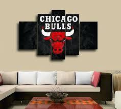 chicago wall decor bulls themed blackhawks