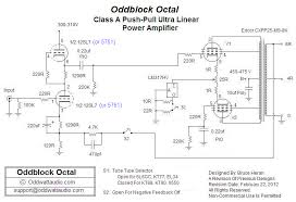 oddwatt audio 5751 srpp kt88 push pull monoblock tube amplifier kits 5751 srpp kt88 push pull tube amp schematic