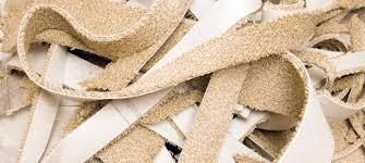 carpet recycling uk landfill diversion of carpet waste rises
