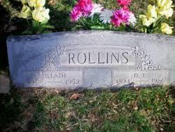 Lillath Opal Rollins (1902-1959) - Find A Grave Memorial