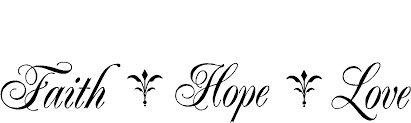 Christian Quotes On Hope And Faith Best of Religious Quotes Vinyl Wall Decals Faith Hope Love
