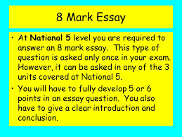 essay writing skills nat ppt 8 mark essay