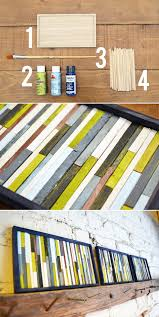 39 simple and spectacular diy wall art projects that will beautify your home homesthetics decor  on inexpensive wall art projects with 39 simple and spectacular diy wall art projects that will beautify