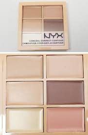 nyx 3c conceal correct contour cream palette light phyrra net