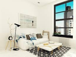 Home Designs: Small White Sofa - Ultra Tiny Home Design