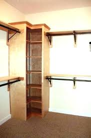 Corner Shelving Unit For Closet