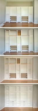 Built In Bookcase Ikea Hack Diy Built In Bookcase With Hemnes Furniture Studio 36