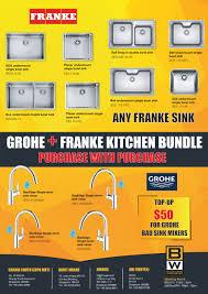 Grohe Franke Kitchen Bundle Bathroom Warehouse