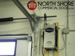 liftmaster mj 5011u commercial garage door opener medium duty jackshaft operator