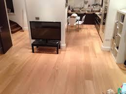 Oak Flooring In Kitchen Brushed Uv Oiled Natural Oak Flooring In A Kitchen