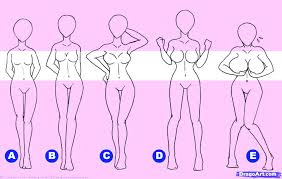 34 Engaging Anime Front View Breast Size Chart How To Draw
